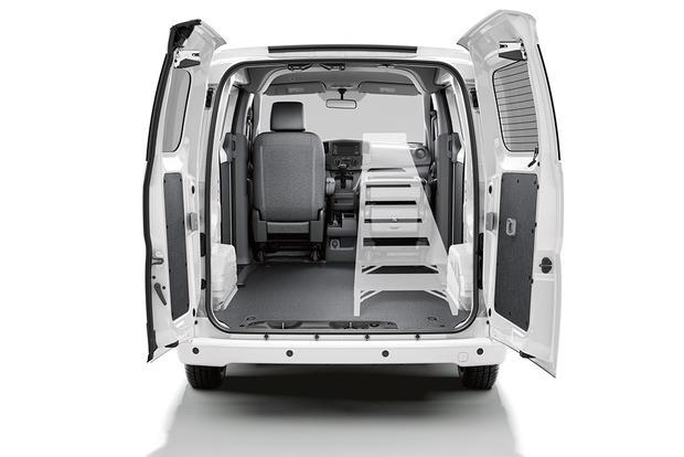 The Nissan NV200 Interior