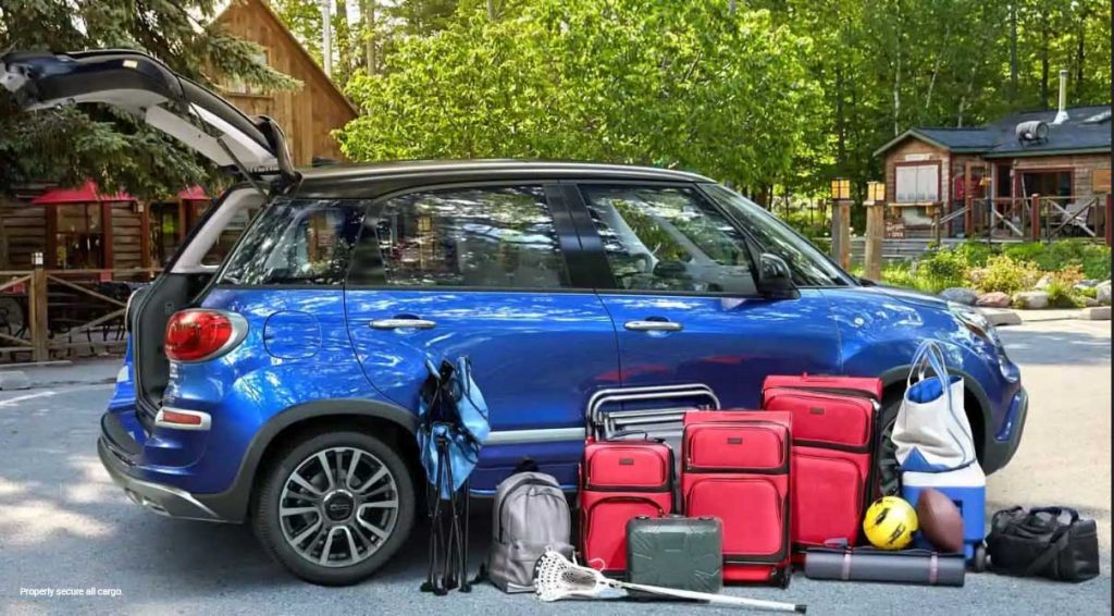 2018 Fiat 500L has lots of volume for passengers and cargo