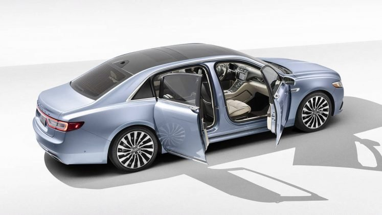 Lincoln Continental brings back suicide doors