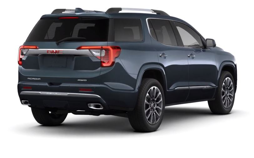 SUVs / Crossovers - The 2020 GMC Acadia Redesigned for 2020