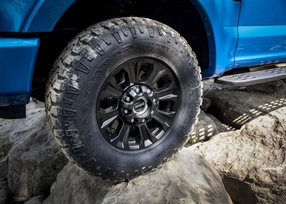 THE FORD SD TREMOR OFF-ROAD PACKAGE TIRES
