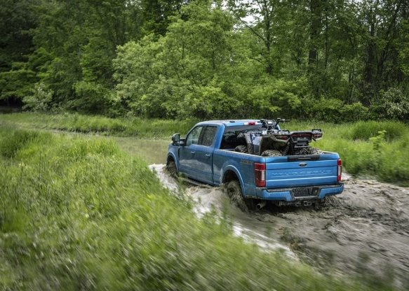 THE FORD SD TREMOR OFF-ROAD PACKAGE PHOTOS