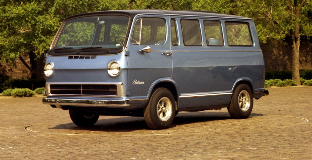 The Chevrolet Electrovan