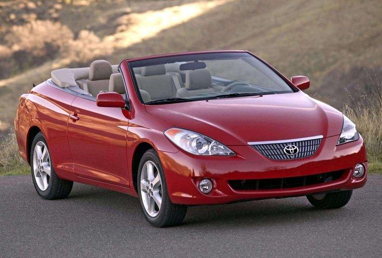 2004–2008 Toyota Solara Convertible