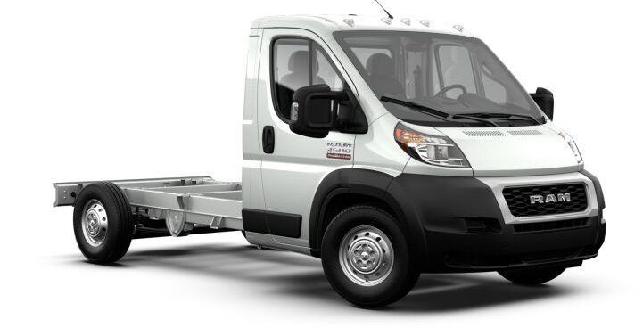 2021 Ram PROMASTER 3500 Cab Chassis